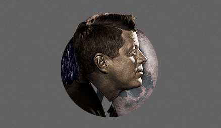 Blast off to the moon (and back) with this free JFK Moonshot app for iPhones and iPads.